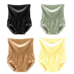 1d3ba0142355 US2 MUNAFIE 4-Pack Hi-waist Shapewear Seamless Tummy BELLY Control ...