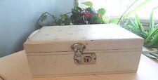 VINTAGE JEWELRY BOX......MELE   w/key,