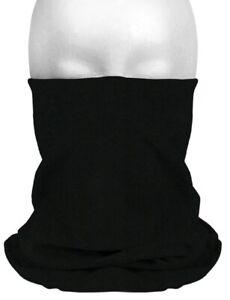 Multifunktionstuch-Schlauchschal-Halstuch-Mundschutz-Motrorrad-Fahrrad-schwarz