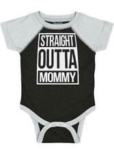 Straight Outta quarantaine Babygrow-Body Gilet Funny Baby Grow Enfants Nouveauté