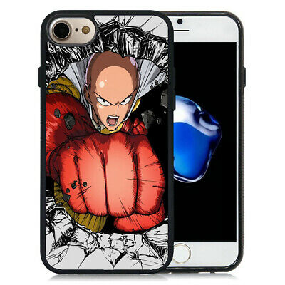One Punch Man Saitama pattern iphone case
