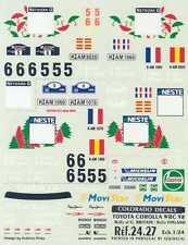 Colorado Decals 1/24 TOYOTA COROLLA WRC '98 Rally Great Britain & Finland
