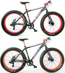 26 zoll herren fat bike 7 gang bugno mountainbike hardtail. Black Bedroom Furniture Sets. Home Design Ideas