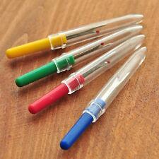 5 X Nahttrenner Auftrenner Saumtrenner Pfeiltrenner mit Schutzkappe 5 Farben Neu