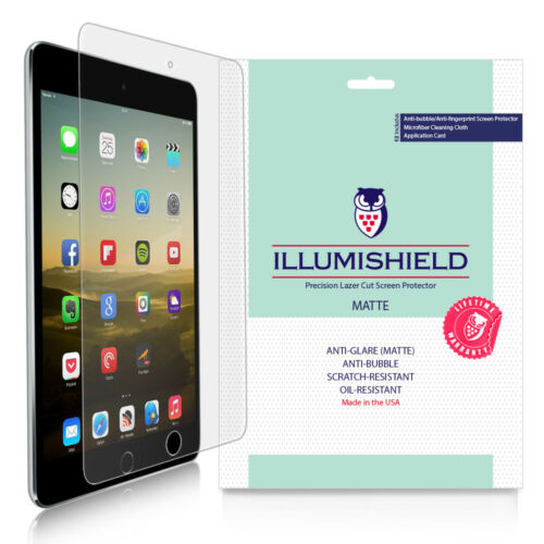 iLLumiShield Matte Screen Protector w Anti-Glare 3x for Apple iPad mini 4