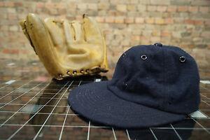 Vintage-Beisbol-GUANTES-Gorra-CUERO-OFICIAL-LIGA-PRINCIPALES-LIGA-60