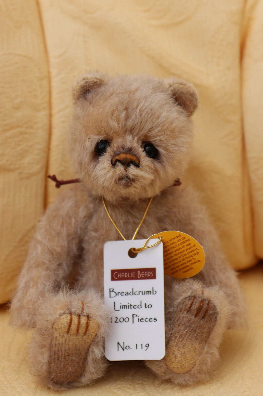 Charlie Bears Bears Bears - Breadcrumb - Minimo - MM655510B ac8302