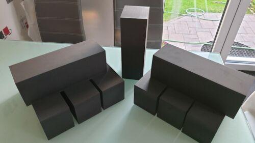 42 Kg//m³ Hartschaum,Schaumstoff,Hartschaumstoff 9 Teilig 312 x 110 x 100