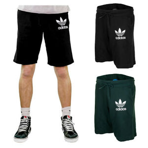 Adidas-Men-039-s-Trefoil-Logo-Active-Wear-Gym-Athletic-Workout-Fleece-Shorts