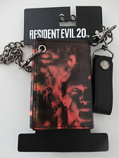 Resident Evil Movie 20th Anniversary Chain Wallet Nwt