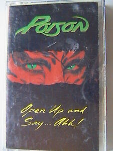 POISON-034-OPEN-UP-AND-SAY-AHH-034-MX-PRO-CASSETTE-1988-NOTHIN-BUT-A-GOOD-TIME-FALLEN