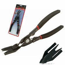 Neilsen Trim Clip Remover Tool Spring Loaded Door Panels Mouldings Car Plier  7D