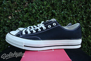 76c0cad9fdcada CONVERSE ALL STAR CHUCK TAYLOR CT 70 OX SZ 11 BLACK WHITE FIRST ...