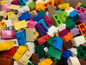 LEGO-3004-1x2-100-Used-Coloured-Bricks-Per-Order