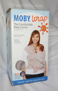 Slate Genuine Moby Wrap Classic Baby Carrier