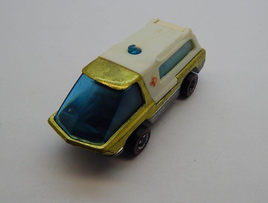 rossoline Hotwheels giallo 1970 ambulancia oc17203