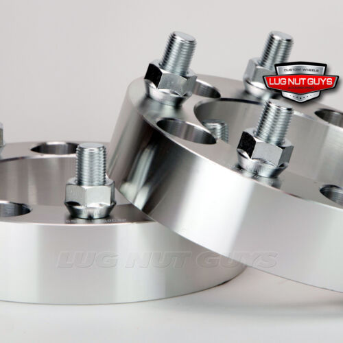 """2 Wheel Spacers Adapters ¦ 5x5.5 To 5x135 ¦ 1.5/"""" Thick ¦ 5x139.7 To 5x135"""