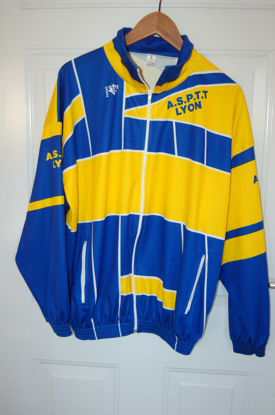 Maillot de ciclismo + A.S.P.t.t ex logo noret  amarillo & azul tamaño 5  Seleccione de las marcas más nuevas como