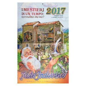 Calendario Di Frate Indovino 2020.Details About Calendar Frate Indovino 2017 I Mestieri Di A Time Religion Religious