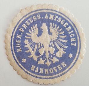 Koen-Preuss-Amtsgericht-Hannover-Siegelmarke-Vignette-7437