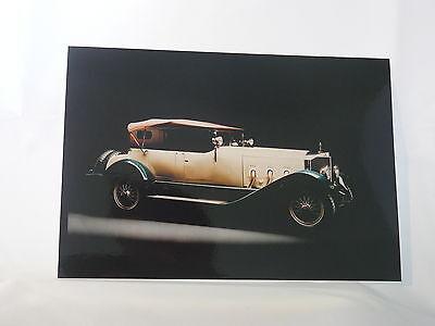 Presse-foto Press Photo m0029 Jahre Lang StöRungsfreien Service GewäHrleisten Typ S Von 1927 Mercedes-benz Classic