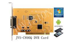 4 channel dvr card security cctv recorder win7&8 32&64 remote monitoring p2p