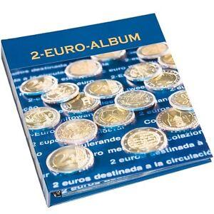 319845 Leuchtturm Münzalbum Numis Für 2 Euro Gedenk Münzen 4er