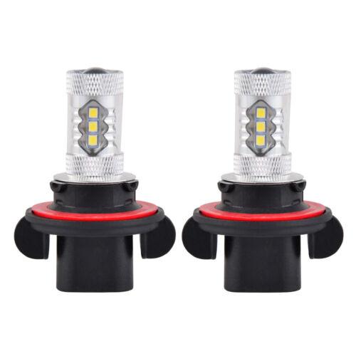 For Polaris 80W Super White LED ATV Headlight Bulbs RZR 800 900 Outlaw 450 525