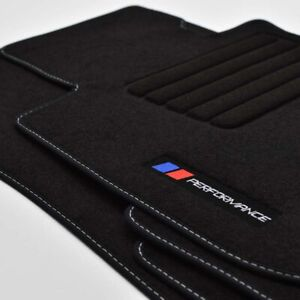 Velours-Fussmatten-Edition-PERFORMANCE-PB-fuer-BMW-3er-F30-F31-ab-Bj-10-2011