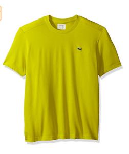 Lacoste Mens Tennis Sport Short Sleeve Technical Jersey Tee Shirt