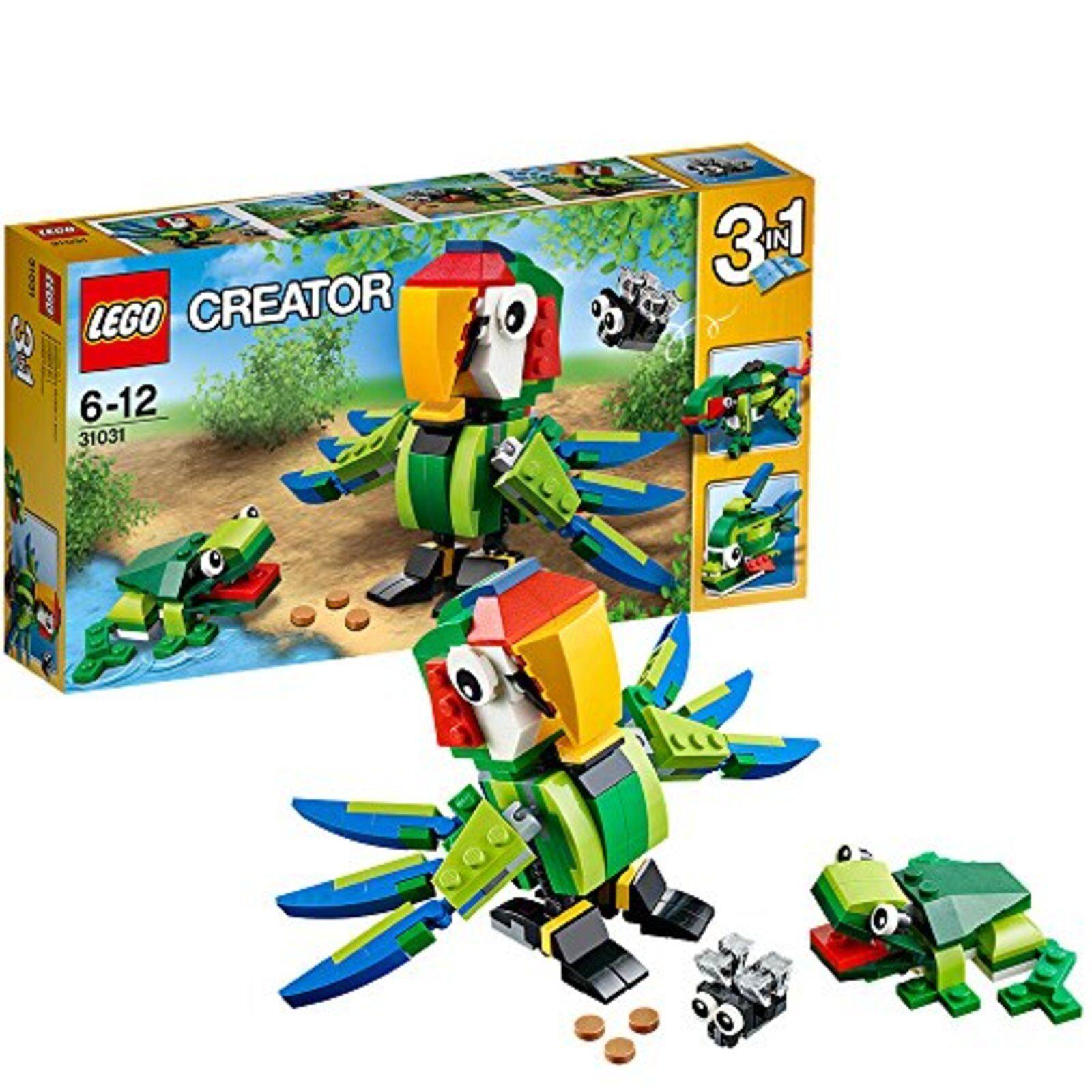 Lego Lego Creatore Tropical Animali 31031 con Tracciamento Nuovo Giappone