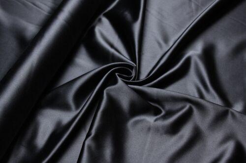 100/% Seide Satin Duchesse Natur Silk Bluse Kleid Damenkleid Seidenkleid Stoff