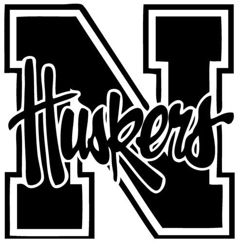 """University of Nebraska Decal /""""Sticker/"""" for Car or Truck or Laptop"""