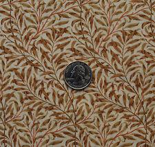 William Morris Wilton Bough Tan Rose 100% Cotton Quilting Crafting Sewing BTHY