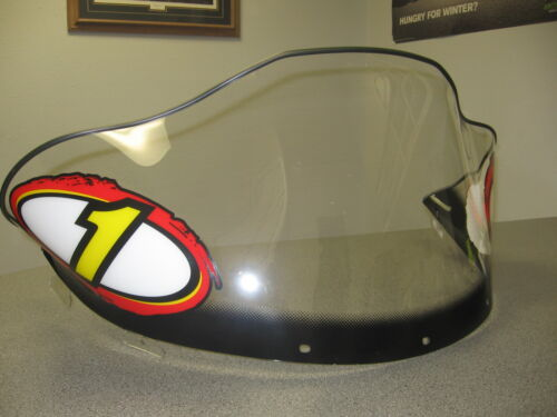 POLARIS SNOWMOBILE EDGE X #1 LOW CLEAR EDGE CHASSIS WINDSHIELD