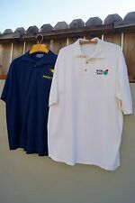 Men's 2XL Lot of 2 Polo Shirts Pancho's Southwestern Grille and 2001 MTBC