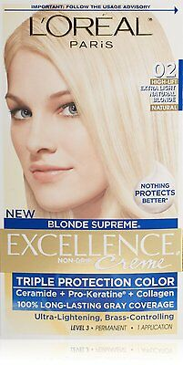 L'Oreal Paris Excellence Extra Light Natural Blonde #2 (Pack of 6)