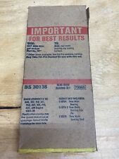 Fel-Pro BS 30138 Rear Main Bearing Seal Set