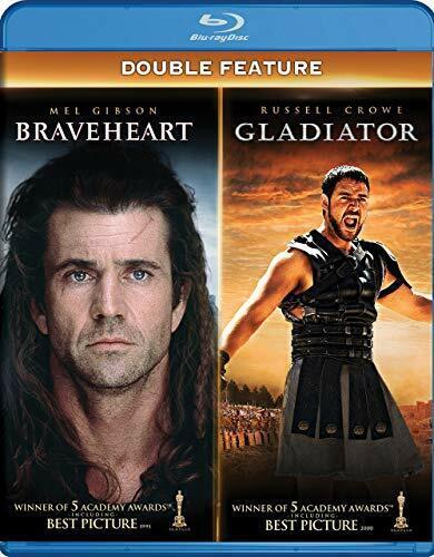 Braveheart / Gladiator (2000) (4 Disc) BLU-RAY NEW