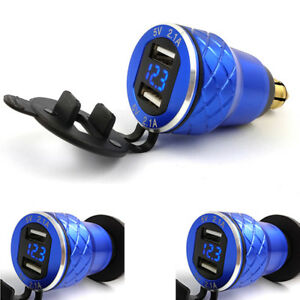 Aluminum-Motorcycle-USB-Charger-Adapter-For-BMW-F800-F650-F700-R1200-GS-R1200RT