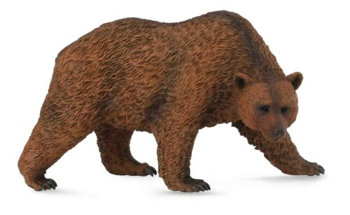 BROWN BEAR ANIMAL MODEL by COLLECTA 88560 *NEW WITH TAG*