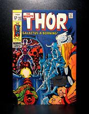 COMICS: Marvel: Thor #162 (1969), 1st Torger app/Galactus origin - (avengers)