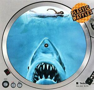 Jaws-Killer-Shark-1-Horror-Slipmat-Turntable-12-034-Record-Player-DJ-Audiophile