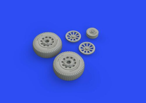 Eduard Brassin 648512 1//48 North-American P-51D Mustang wheels rhomboid tread