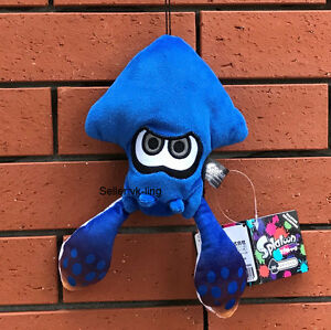 Splatoon 2 Squid Plush Pendant Cute Stuffed Toy Soft Doll Nintendo