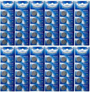 60-Batterien-CR2032-zum-Sonderpreis-fuer-Elambia-Kerzen-EUNICELL-Knopfzelle