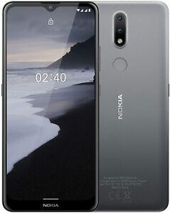 Défectueux ! Nokia 2.4 Smartphone Avec 6,5 Pouces HD+ Affichage, Portät- Et