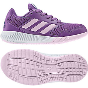 separation shoes 404ec 34bd7 Image is loading Adidas-Kids-Youth-Shoes-Girls-Altarun-Training-Sporty-