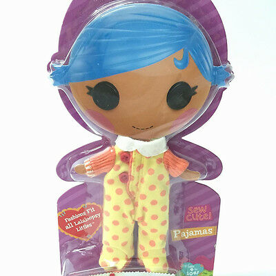 """3x gift Outfit Clothes Dress Pajamas Raincoat Shoes for 12/"""" LALALOOPSY Dolls toy"""