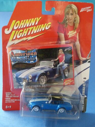 Johnny Lightning - 1965 Shelby Cobra 427 - American beauties - Neuf